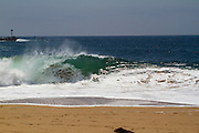 The Wedge in Newport Beach California