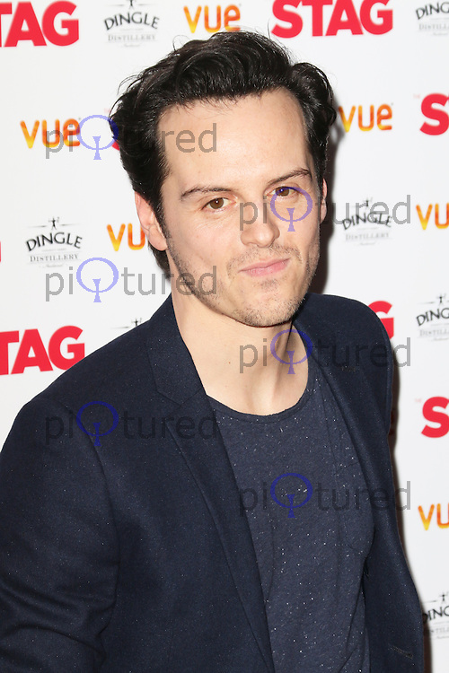 Andrew Scott, The Stag - Gala Screening, Vue Cinema Leicester Square, London UK, 13 March 2014, Photo by Richard Goldschmidt