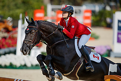 Foster Tiffany, CAN, Tripple X III<br /> CSIO Barcelona 2017<br /> © Hippo Foto - Dirk Caremans<br /> 28/09/2017