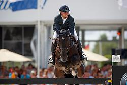 Marschall Marcel, GER, Utopia 48<br /> Rolex Grand Prix CSI 5* - Knokke 2017<br /> © Hippo Foto - Dirk Caremans<br /> 09/07/17