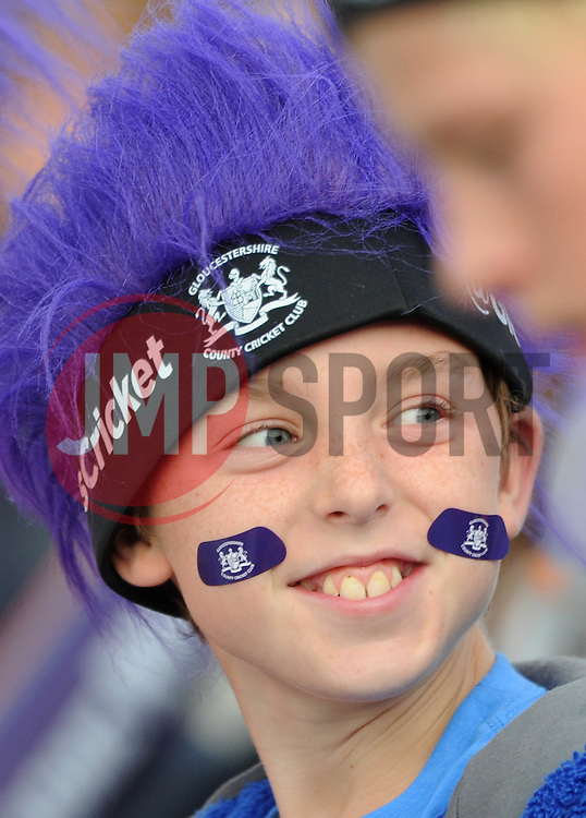 Gloucestershire fan - Photo mandatory by-line: Dougie Allward/JMP - Mobile: 07966 386802 - 19/06/2015 - SPORT - Cricket - Bristol - County Ground - Gloucestershire v Somerset - Natwest T20 Blast