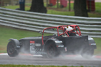 #129 Gareth SENIOR Caterham Supersport  during CSCC Gold Arts Magnificent Sevens  as part of the CSCC Oulton Park Cheshire Challenge Race Meeting at Oulton Park, Little Budworth, Cheshire, United Kingdom. June 02 2018. World Copyright Peter Taylor/PSP.