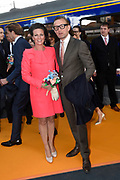 Koningsdag 2017 in Tilburg / Kingsday 2017 in Tilburg<br /> <br /> Op de foto / On the photo:  Prins Bernhard en prinses Annette / Prince Bernhard en Princess Annette