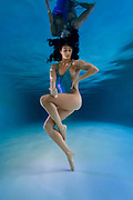 Underwater beauty in fitness session w/ Ashley Young<br /> <br /> Swimsuit designs by Emily Johnston<br /> <br /> f8 @ 1/160 s, 3200 ISO<br /> VR Zoom 16-35mm f/4G IF-ED at 17 mm on NIKON D750