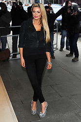Nichola McLean arrives at the Kandee Shoes collection launch party, London, Wednesday Febraury 8, 2012. Photo By i-Images