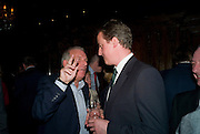 KELVIN MACKENZIE; DAVID CAMERON, Book launch for Citizen by Charlie Brooks. Tramp. London. 1 April  2009