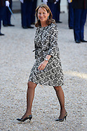 Segolene Royal attend a Gala Dinner at the Elysee Palace on June 2nd, 2015 in Paris