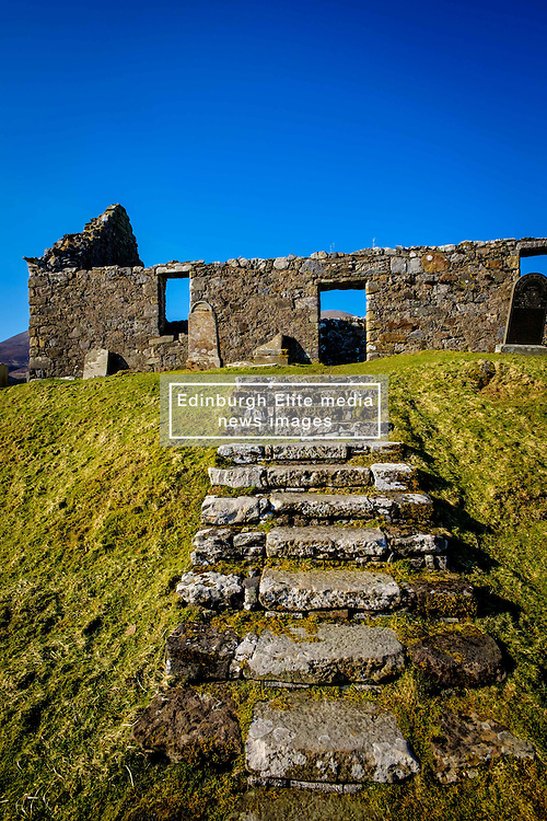 The ruins of Ciile Chriosd (Christ's Church) near Broadford, Isle of Skye, Scotland<br /> <br /> (c) Andrew Wilson | Edinburgh Elite media