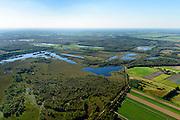 Nederland, Limburg, Gemeente Horst aan de Maas, 23-08-2016; Griendtsveen met zicht op de Deurnsche Peel.<br /> Region of the Peel, former peat bog.<br /> aerial photo (additional fee required); <br /> luchtfoto (toeslag op standard tarieven);<br /> copyright foto/photo Siebe Swart