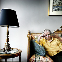 Nederland, Amsterdam,10 september 2007..De Zwitserse filosoof en schrijver Pascal Mercier. .The Swiss philosopher and writer Pascal Mercier.