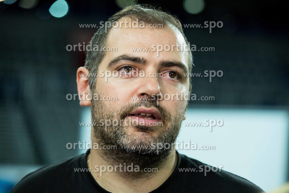 Stefanos Dedas, assistant coach of Slovenia during practice session of Team Slovenia at Day 3 in Group C of FIBA Europe Eurobasket 2015, on September 7, 2015, in Arena Zagreb, Croatia. Photo by Vid Ponikvar / Sportida
