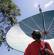Carl Bradshaw Jamaican TV star.