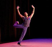 Alvin Ailey American Dance Theater<br /> at <br /> Sadler&rsquo;s Wells London Season and subsequent UK Tour 6 Sept &ndash; 19 Oct 2016<br /> <br /> <br /> Artistic director Robert Battle<br /> <br /> 7th September 2016 <br /> <br /> Yannick Lebrun <br /> Open Door <br /> rehearsal <br /> <br /> Alvin Ailey American Dance Theater, founded in 1958, is recognised by the U.S. Congress as a vital American &ldquo;Cultural Ambassador to the World.&rdquo;  Under the leadership of Artistic Director Robert Battle, Ailey&rsquo;s performances celebrate the human spirit through the African-American cultural experience and the American modern dance tradition.  In almost six decades, Ailey&rsquo;s artists have performed for over 25 million people in 71 countries on six continents and continue to wow audiences and critics around the world.<br /> <br />  <br /> <br /> Open Door (UK PREMIERE) Choreography by Ronald K. Brown / Music: Arturo O&rsquo;Farrill and the Afro-Latin Jazz Orchestra. Acclaimed choreographer Ronald K. Brown&rsquo;s Cuban-inspired Open Door is a work for 10 dancers set to the music of Arturo O&rsquo;Farrill and the Afro-Latin Jazz Orchestra, including their recent Grammy-Award winning album Cuba: The Conversation Continues. Brown&rsquo;s travels to Cuba inspired much of the movement, from the salsa partnering to the references to Elegba &ndash; the Santer&iacute;a god who opens pathways.  A testament to the power of dance and music as vehicles for culture and compassion, Open Door marked Brown&rsquo;s sixth work for the Company. <br /> <br /> <br /> <br /> <br /> <br /> Photograph by Elliott Franks <br /> Image licensed to Elliott Franks Photography Services