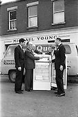 1962 - Presentation to Mr Michael Young of Churchtown of a refrigerator.