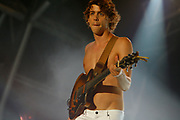 Razorlight, Johnny Borrell, C4 Stage, V2006, UK