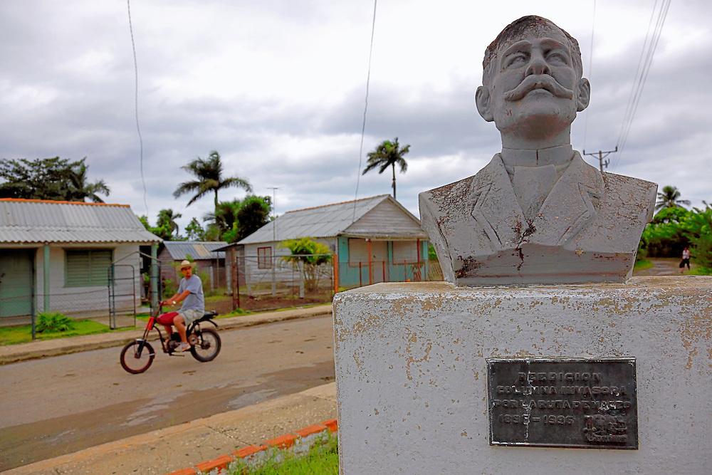 Bust in Las Pozas, Pinar del Rio, Cuba.