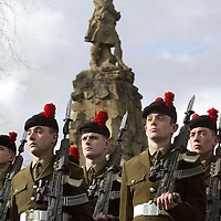 Black Watch Homecoming Parade, Aberfeldy. 02.03.05<br />