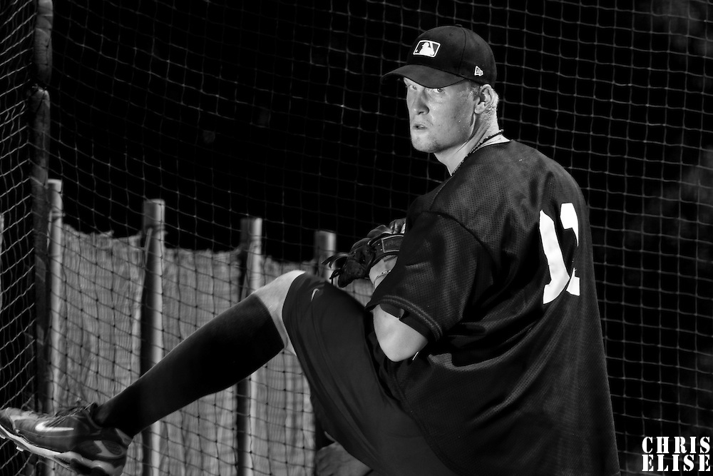 Baseball - MLB Academy - Tirrenia (Italy) - 19/08/2009 - Oscar Carlstedt (Sweden)