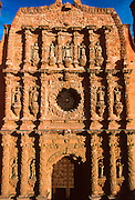 MEXICO, ZACATECAS Cathedral façade, architectural masterpiece