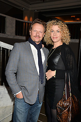 NEIL STUKE and SALLY-ANN STUKE at the Old Vic 24 Hour Plays Celebrity Gala held at the Rosewood Hotel, 252 High Holborn, London on 24th November 2013.