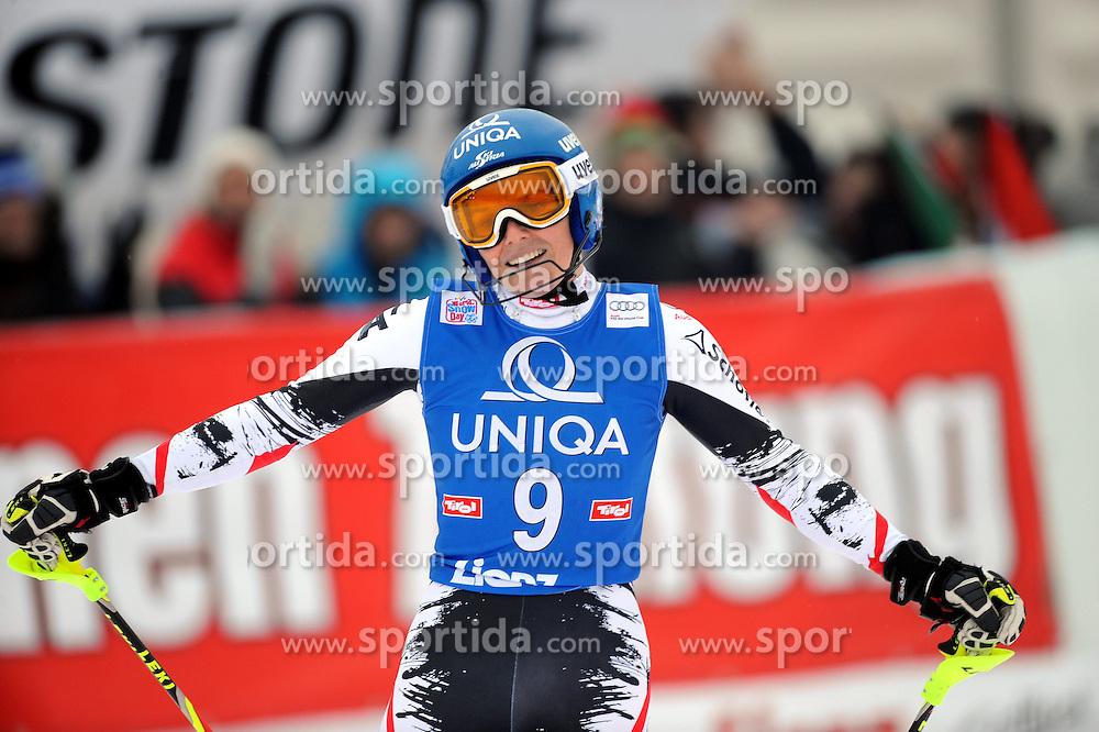 29.12.2013, Hochstein, Lienz, AUT, FIS Weltcup Ski Alpin, Lienz, Damen, Slalom 2. Durchgang, im Bild Marlies Schild (AUT) // Marlies Schild (AUT) during ladies Slalom 2nd run of FIS Ski Alpine Worldcup at Hochstein in Lienz, Austria on 2013/12/29. EXPA Pictures © 2013, PhotoCredit: EXPA/ Erich Spiess