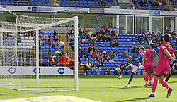 Mohamed Eisa of Peterborough United scores his sides third goal of the game - Mandatory by-line: Joe Dent/JMP - 14/09/2019 - FOOTBALL - Weston Homes Stadium - Peterborough, England - Peterborough United v Rochdale - Sky Bet League One
