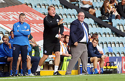 Peterborough United Manager Steve Evans and Assistant Manager Steve Evans encourage their players from the touchline - Mandatory by-line: Joe Dent/JMP - 15/09/2018 - FOOTBALL - ABAX Stadium - Peterborough, England - Peterborough United v Portsmouth - Sky Bet League One