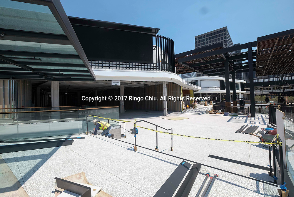 Westfield Century City during it's renovation. (Photo by Ringo Chiu)<br /> . (Photo by Ringo Chiu)<br /> <br /> Usage Notes: This content is intended for editorial use only. For other uses, additional clearances may be required.