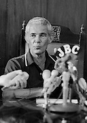 PNP leader Michael Manley - 1980