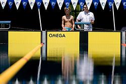 Tobija Ponikvar of PK Ilirija (SLO)  during the 35th International Swimming meeting Ljubljana 2010, on May 23, 2010 at Kodeljevo pool, Ljubljana, Slovenia. (Photo by Vid Ponikvar / Sportida)