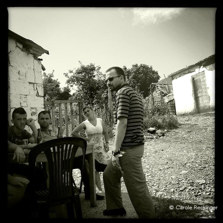 Lunch in Gramsh