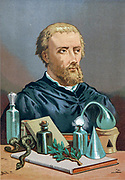 Paracelsus [Paracelso] (1493/1494 – 24 September 1541), born Theophrastus von Hohenheim, was a Swiss physician, alchemist, theologian, and a philosopher of the German Renaissance. From the book La ciencia y sus hombres : vidas de los sabios ilustres desde la antigüedad hasta el siglo XIX T. 2  [Science and its men: lives of the illustrious sages from antiquity to the 19th century Vol 2] By by Figuier, Louis, (1819-1894); Casabó y Pagés, Pelegrín, n. 1831 Published in Barcelona by D. Jaime Seix, editor , 1879 (Imprenta de Baseda y Giró)