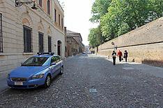 20110422 CORSO ERCOLE I D'ESTE VISTO DALLA QUESTURA DI POLIZIA DI FERRARA