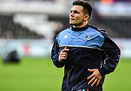 Cardiff Blues' Ellis Jenkins during the pre match warm up<br /> <br /> Photographer Craig Thomas/Replay Images<br /> <br /> Guinness PRO14 Round 13 - Ospreys v Cardiff Blues - Saturday 6th January 2018 - Liberty Stadium - Swansea<br /> <br /> World Copyright © Replay Images . All rights reserved. info@replayimages.co.uk - http://replayimages.co.uk