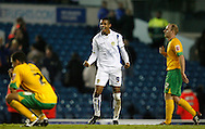 Leeds - Monday October 19th, 2009: Jermaine Beckford of Leeds United reacts after the Coca Cola League One match at Elland Road, Leeds. (Pic by Paul Thomas/Focus Images)..