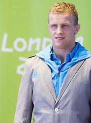 Rok Draksic during presentation of Slovenian Olympic and Paralympic team for London 2012, on July 6, 2012 in Ljubljana's Castle, Ljubljana, Slovenia.  (Photo by Vid Ponikvar / Sportida.com)