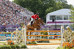 Lamaze Eric (CAN) - Derly Chin de Muze<br /> Olympic Games London 2012<br /> © Dirk Caremans