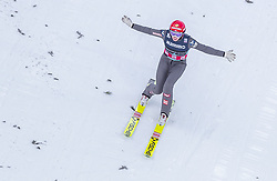 14.03.2019, Granasen, Trondheim, NOR, FIS Weltcup Skisprung, Raw Air, Trondheim, Einzelbewerb, Damen, im Bild Daniela Iraschko-Stolz (AUT) // Daniela Iraschko-Stolz of Austria during the ladie's individual competition of the 3rd Stage of the Raw Air Series of FIS Ski Jumping World Cup at the Granasen in Trondheim, Norway on 2019/03/14. EXPA Pictures © 2019, PhotoCredit: EXPA/ JFK