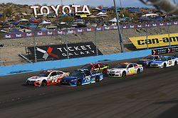 November 12, 2017 - Avondale, Arizona, United States of America - November 12, 2017 - Avondale, Arizona, USA: Matt Kenseth (20) battles for position during the Can-Am 500(k) at Phoenix Raceway in Avondale, Arizona. (Credit Image: © Justin R. Noe Asp Inc/ASP via ZUMA Wire)