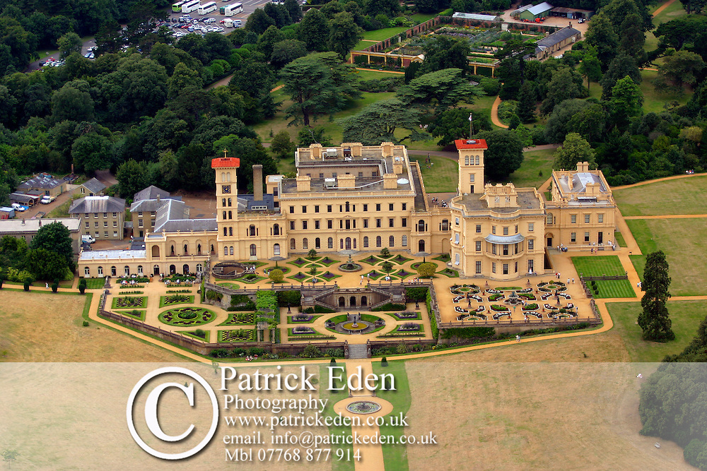 Osbourne House Aerial Photographs of the Isle of Wight by photographer Patrick Eden photography photograph canvas canvases