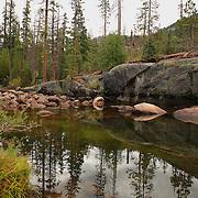 Merced River - Little Yosemite Valley - Yosemite