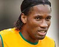 Photo: Steve Bond/Richard Lane Photography.<br /> Ivory Coast v Benin. Africa Cup of Nations. 25/01/2008. Didier Drogba of Chelsea and Ivory Coast