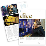 Cover article for The Affiliate newsletter of the Smithsonian Institution