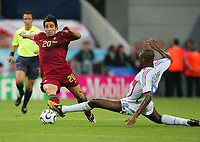 v.l. Deco, Patrick Vieira Frankreich<br />