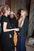 JENNIFER WOODHEAD; LAURA BAILEY, The Veuve Clicquot Business Woman Of The Year Award, celebrating women's excellence in business and commitment to sustainability. Claridge's, Brook Street, London, 22 April 2013
