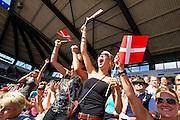 Fans Denemarken<br /> FEI European Championships 2013<br /> © DigiShots
