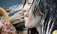 "Alexis said she felt empty, beat at that moment. She described the first application of paint on her face as icy-cold.  This is a climatic moment of an American Indian blessing of a girl's passage from child to womanhood that few outsiders witness. It's a tradition, which is as old as the tribe's creation and is performed ""only in America,"" bragged one Apache bystander."