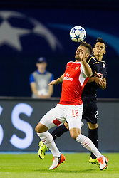 Oliver Giroiud #12 of Arsenal F.C. during football match between GNK Dinamo Zagreb, CRO and Arsenal FC, ENG in Group F of Group Stage of UEFA Champions League 2015/16, on September 16, 2015 in Stadium Maksimir, Zagreb, Croatia. Photo by Urban Urbanc / Sportida