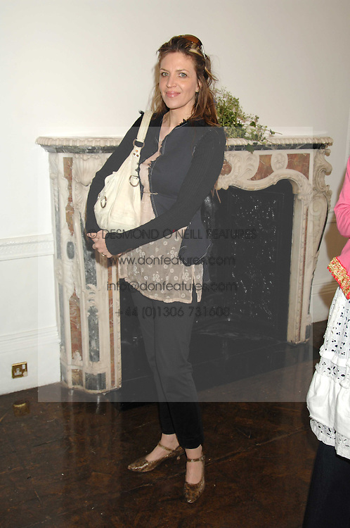 MARTHA FIENNES at a lunch in aid of African Solutions To African Problems held at Il Bottaccio, 9 Grosvenor Place, London on 20th May 2008.<br /><br />NON EXCLUSIVE - WORLD RIGHTS