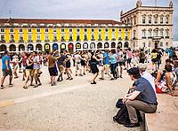Cours collectif de danse, Praça do Commercio